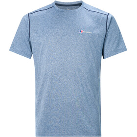 Berghaus Explrr Base Crew T-shirt Heren, deep water